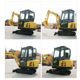 Excavator Hydraulic Excavator 2500kg 2.5t 2.5ton Crawler Excavator With Cheap Prices For Sale