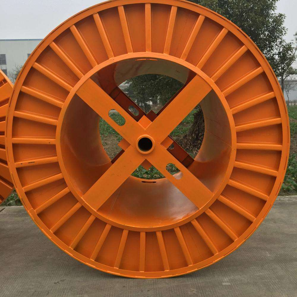 2240 mm reusable stainless steel cat 6 cable spool