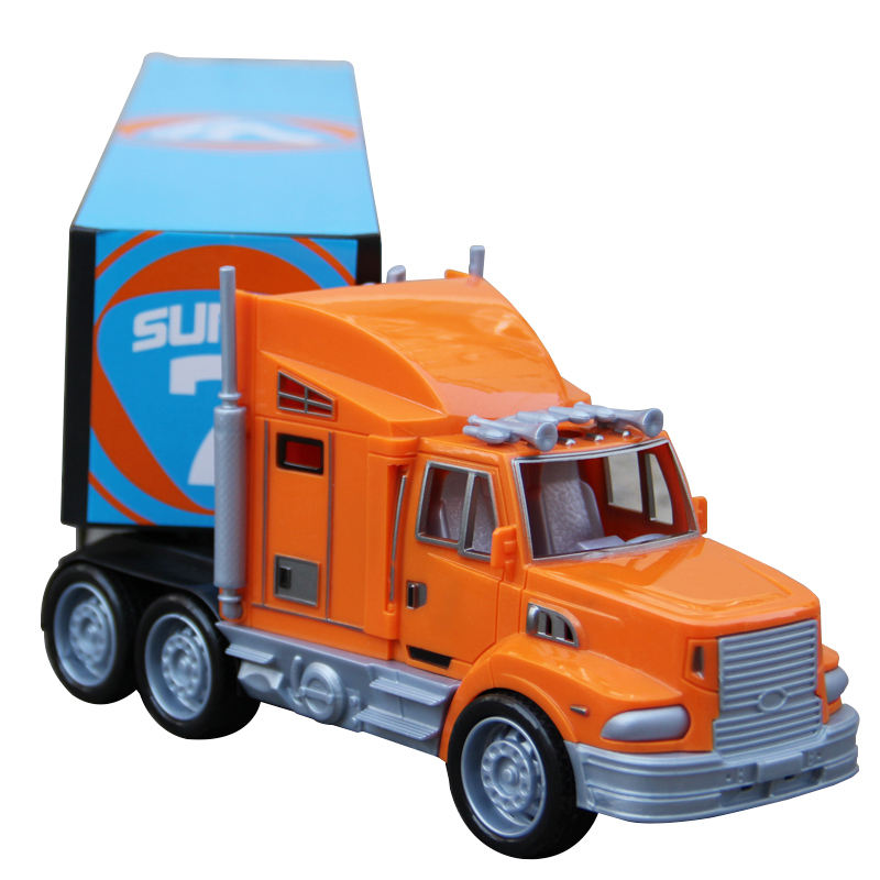 LOGO OEM Gift Children Toy Vehicles Friction Container Truck Model Kids Toys | Juguetes