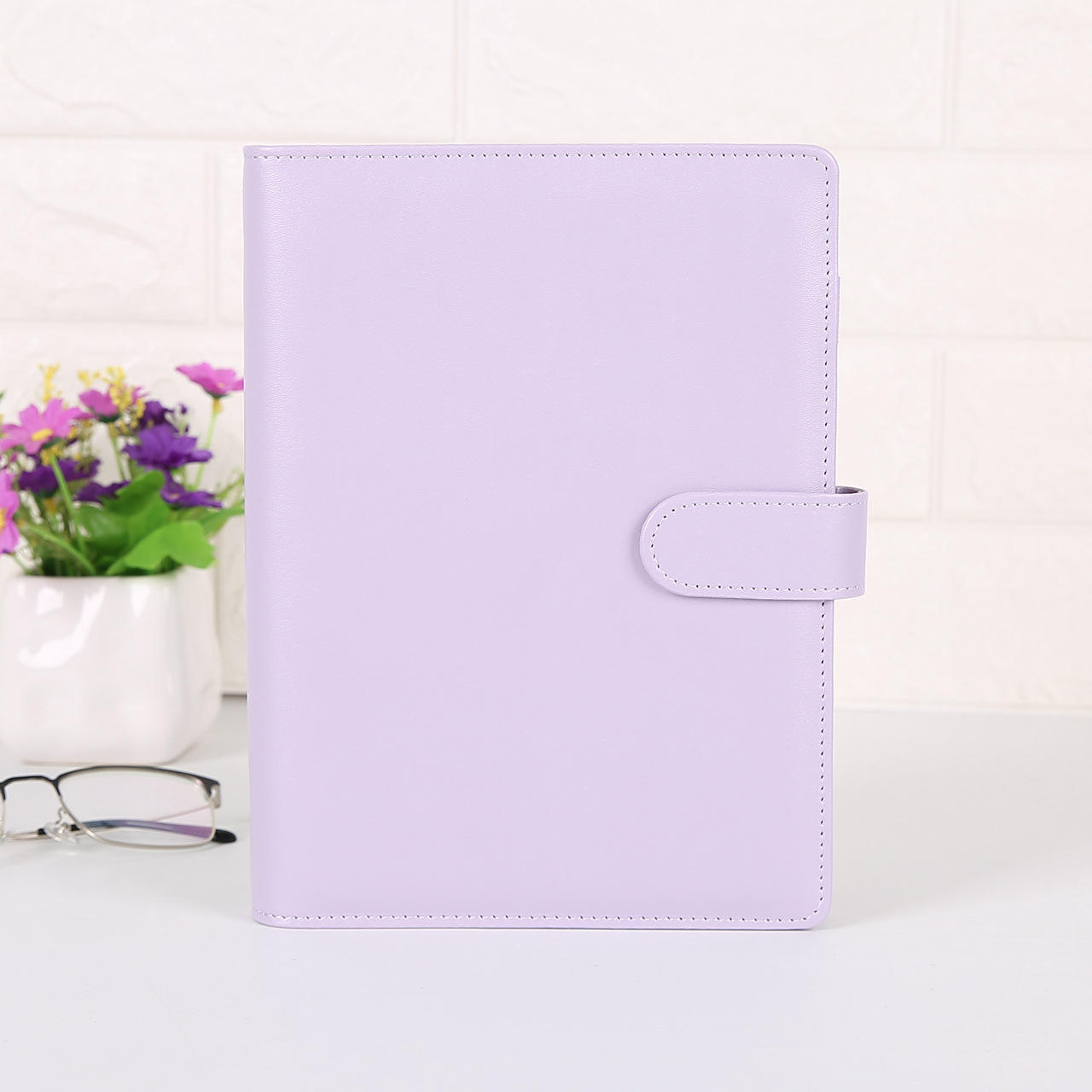 Promotional 2020 Customized Stationary A5 Planner Binder Dairy Book Notebook Leather Note Book for Students