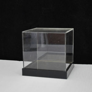 factory custom clear acrylic box for storage or display for wholesale