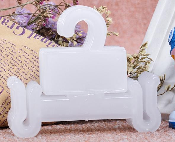 Choques de plástico PP embalagem gancho gancho plástico flip-flop cabides
