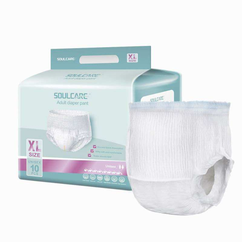 Free Sample Adult Diaper Pants Pull Disposable sanitary Incontinence care diaper
