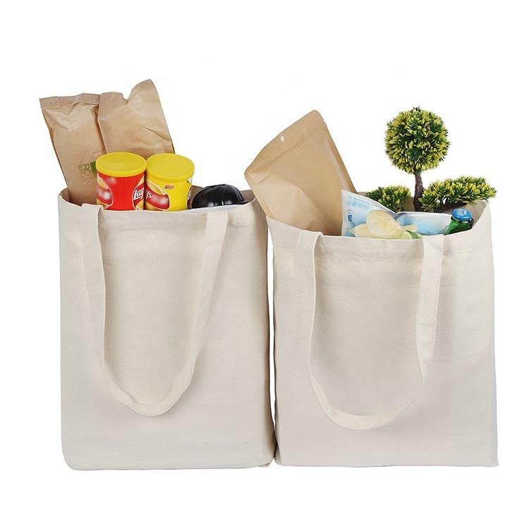 Lavabile <span class=keywords><strong>shopping</strong></span> tote bag in cotone sacchetto di generi alimentari