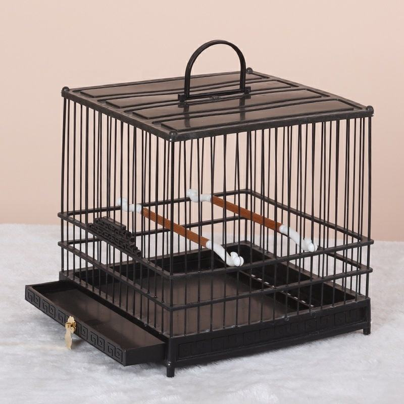Metal Iron Select Rolling Large Bird Cages for different birds Play top Bird Cage with Stand