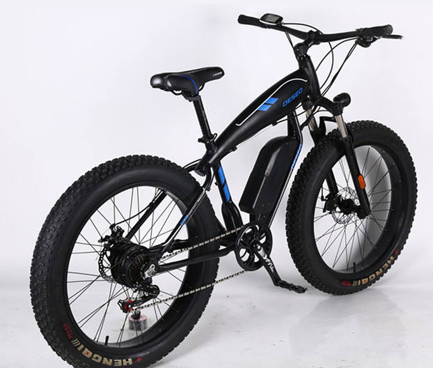 Full suspension fat tire electric dirt bikes 48V bafang max frame beach cruiser