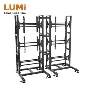 Steel Modular Video Floor Stand Wall Mount