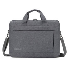 korean vintage male office conference grey messenger briefcase bag
