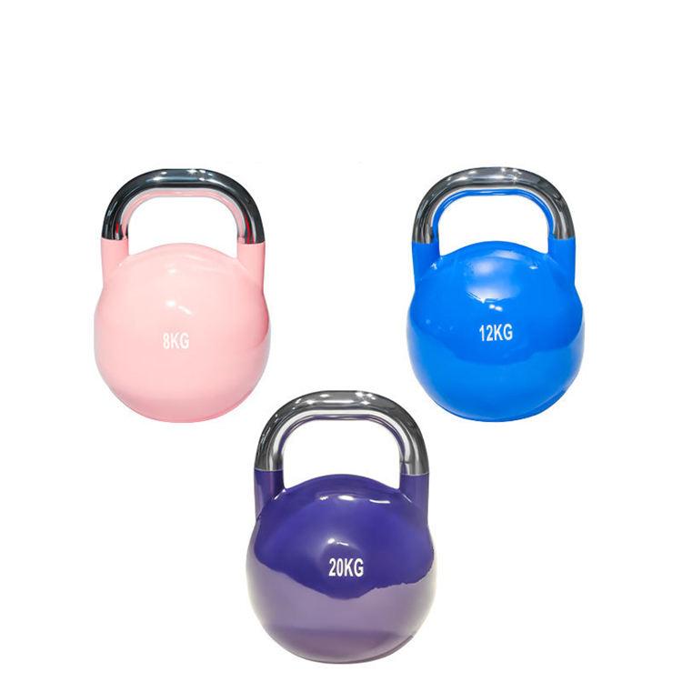 Cina Fitness Heavy Competizione Cuoio Dell&#39;unità di Elaborazione di Ferro Cast Sport Pvc Regolabile Bollitore Campane <span class=keywords><strong>Palla</strong></span> Portatile Mini Kettlebell <span class=keywords><strong>Lbs</strong></span> per la Vendita