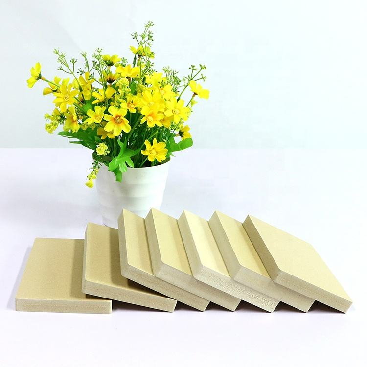 Light weight straw celuka foam board from Guangzhou for furniture decoration