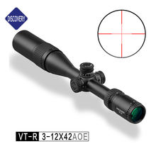 Discovery Scopes Hunting Optical Sight Riflescope VT-R 3-12X42AOE, Air Gun Hunting Riflescope