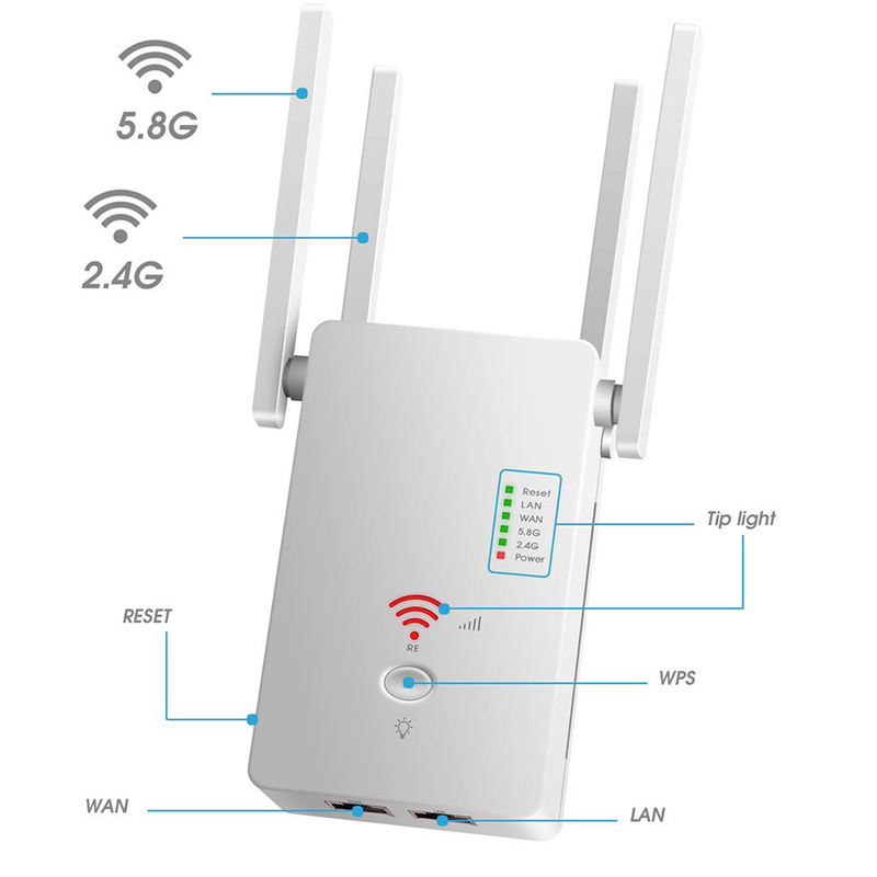 Router wifi antenna booster universal wifi booster antenne wifi repeater Extender Booster
