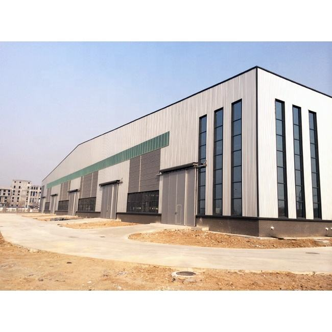 steel structure warehouse building construction project