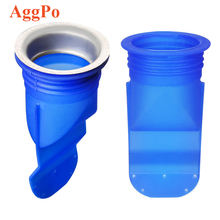Floor Drain Deodorant Filter One Way Drain Valve Sewer Core Backflow Preventer, Waterless Trap Seal