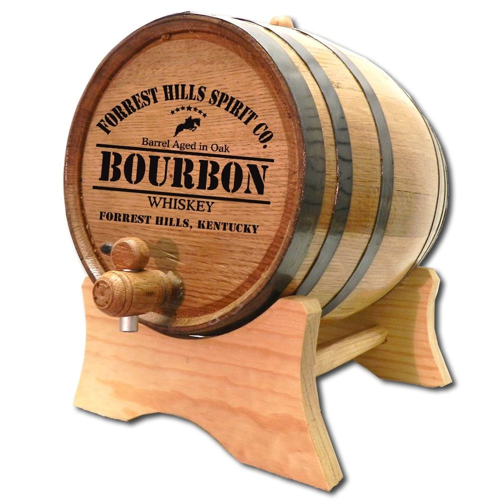 Thousand Oaks Barrel l American White Oak, Wooden barrel, cask, keg 1-20Ltrs for ageing whiskey, wine, tequila, rum, vodka