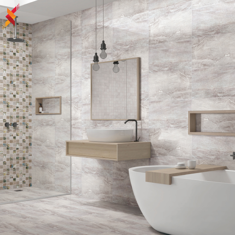 Hot variety 3d non-slip interior marble bathroom ceramic wall tiles