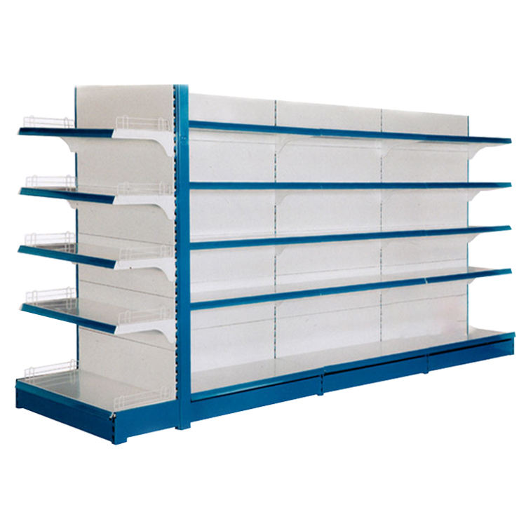 Guangzhou Heda Supplier metal supermarket shelves shop rack Gondola with good selling supermarket shelf