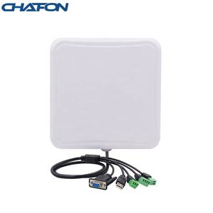 CHAFON Arduino Linux raspberry Android IP67 8m long range uhf antenna rfid reader with USB/TCP/WIFI for outdoor vehicle tracking