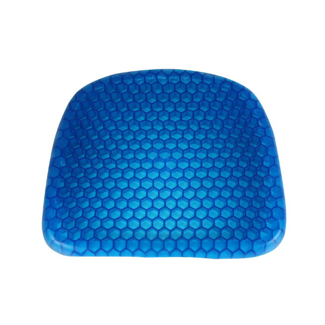 Office breathable cushion multifunctional silicone honeycomb gel egg cushion