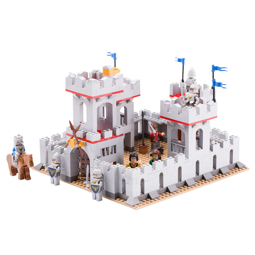Compatible with legoinglys children cavalry kingdom Empire Toys Sets Building Blocks Knight Castle