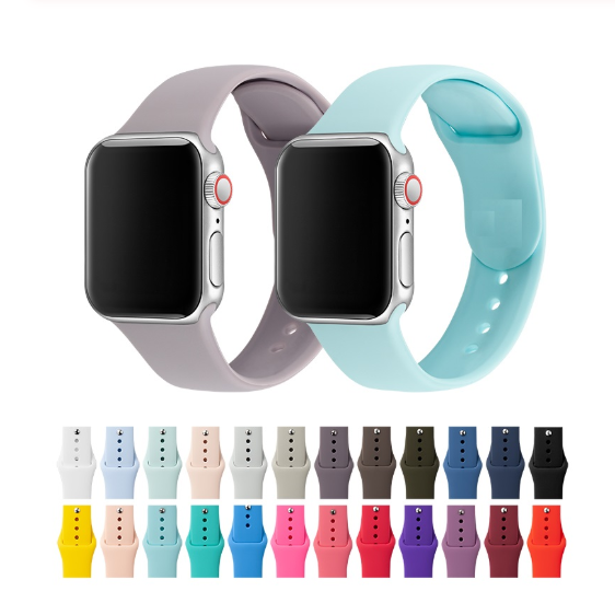 <span class=keywords><strong>Band</strong></span> Voor Apple Horloge <span class=keywords><strong>Band</strong></span> 38 Mm 40 Mm 42 Mm 44 Mm Siliconen Iwatch Strap Vervanging Voor Apple Horloge serie 4,3, 2 38 Mm 44 Mm