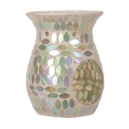 Express Oil mosaic glass candle crystal incense burner