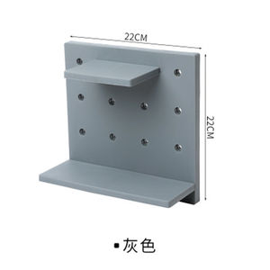 Latest hot selling wall mount storage unique design plastic hanging storage