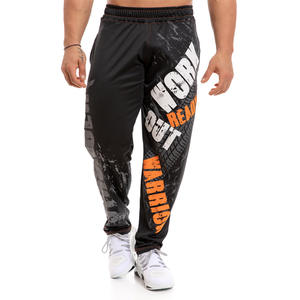 Wholesale Custom Cuffed Gym Sweatpants Fashion Solid Cotton Men Plus Size Jogger Pants
