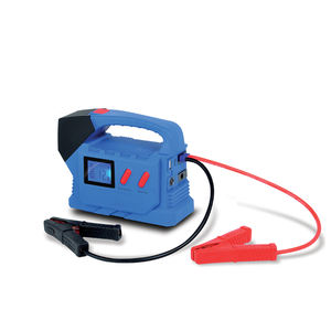 LCD display DC 12V / 19V USB 2.0 output flashing multifunction auto battery jump starters