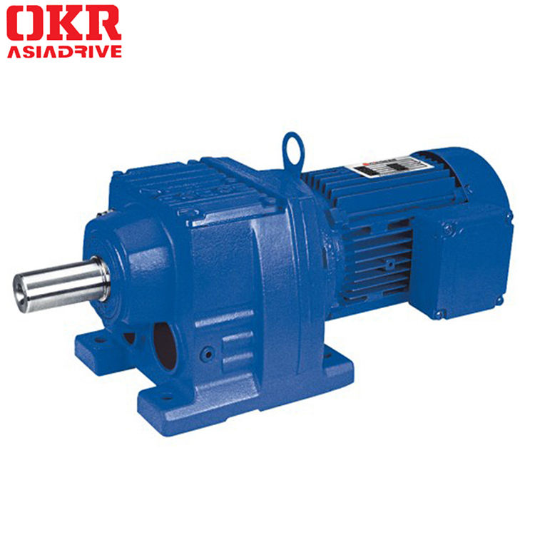 R series R27 helical gear motor with factory price