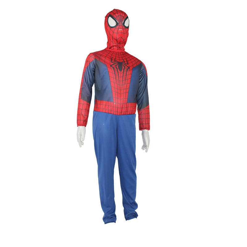 Niños <span class=keywords><strong>Cosplay</strong></span> venta al por mayor de la fiesta de Halloween de superhéroe Hulk disfraces de Spiderman