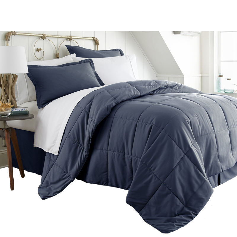 wholesale super soft bed in a bag fashion comforter and sheet 8pc set