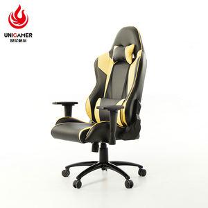 OEM высокая спинка искусственная кожа современный идеальный гоночный АК рокер игровой стул