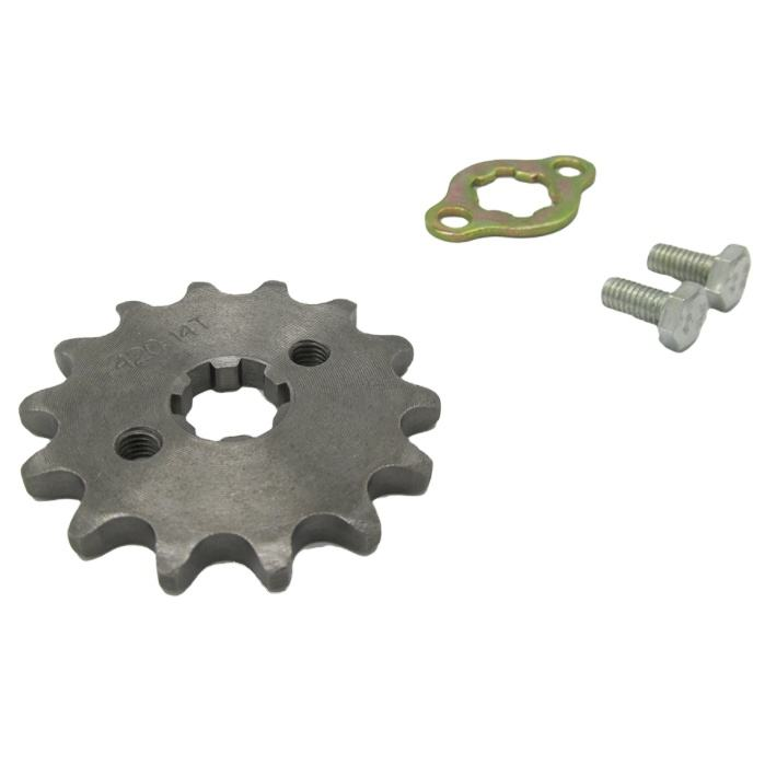 Heavy Duty 13 Tooth Transmission Sprocket Kits Manufacturer Motorcycle Sprocket