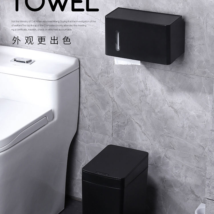 plastic toilet rotating paper tissue box acrylic with high quality napkin holder bar