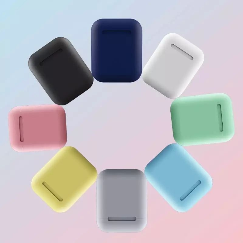 Free shipping Mini Style Wireless blue tooth Earphone i12 mini V5.0 single Headphone for Iphone Earphone