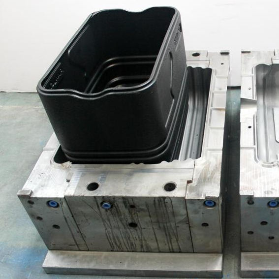 plastic blowing molded ice cooler box mould