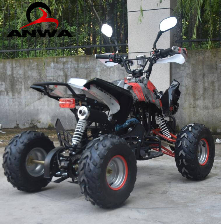 Teens use mini quad atv 125cc 110cc 150cc 50cc