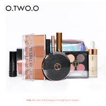 O.TWO. O Cosmetics Travel Suit Lipstick Eyeshadow PVC Bag Makeup Set