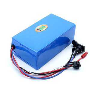 Factory Price Lithium Ion Battery Pack Rechargeable Li-Ion 18650 Battery For Electric Bike