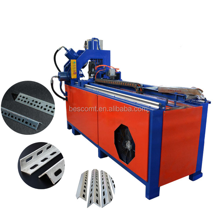 2019 Oem Sheet Metal Stamping Parts Die Used Hydraulic Pipe Punching Press Rotor Cutting Machine 5 Ton For Aluminium Profile