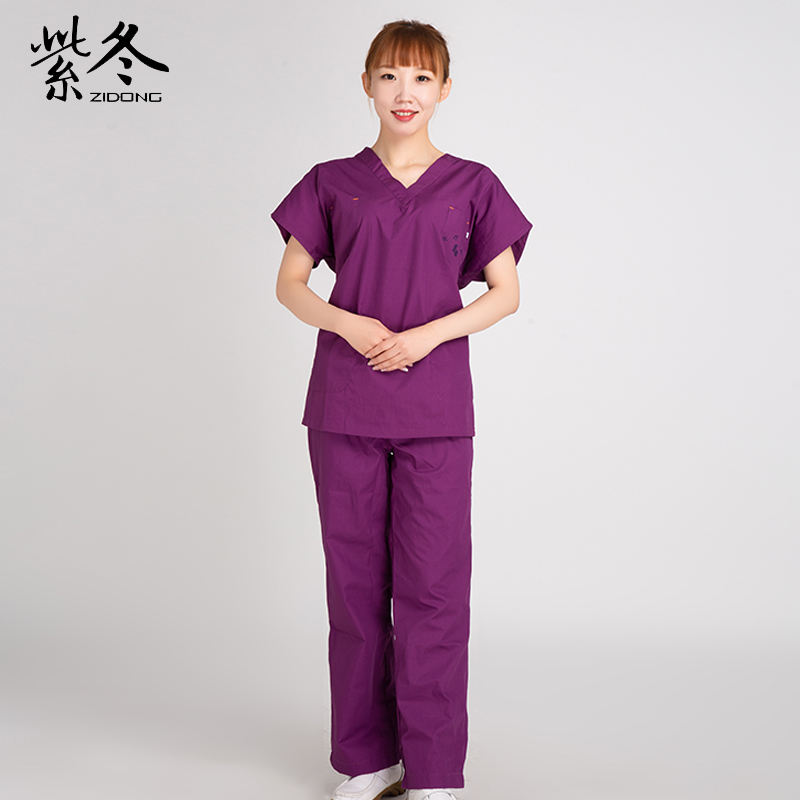 Wholesale Short Sleeve Hospital Nurse Uniform Scrubs Sets