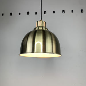 PUB industrial Style Wrought Iron Geometric Designs Hallway Luxury Gold Cylinder Pendant Lamp Light