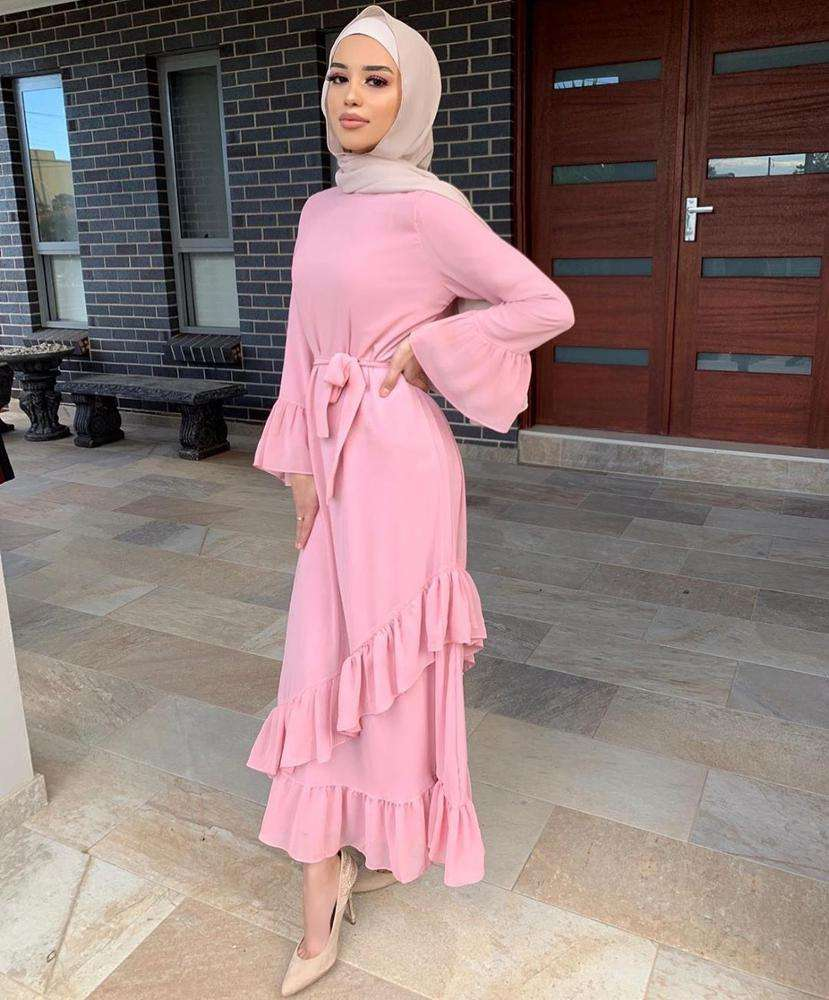 A Turkish Muslim dress for women celebrity robe muslim women dress