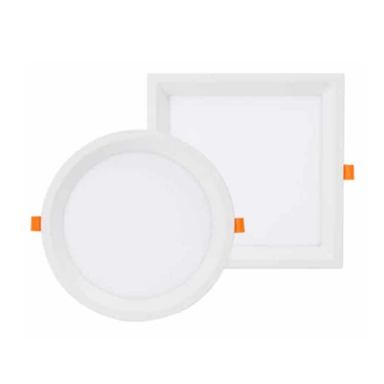 high quality modern simple design nordic style edge light Rimless panel celling 15w anti-glare led light for home