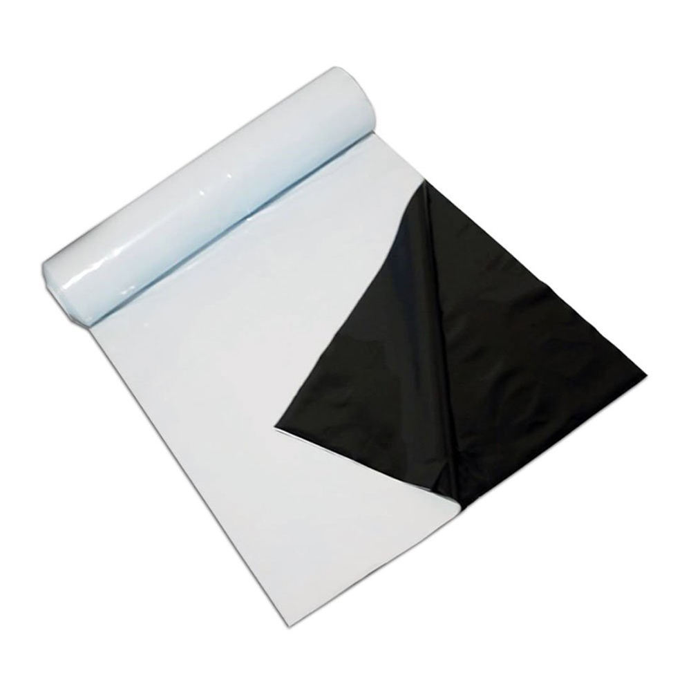 Heavy Duty Reflective Black White Poly Panda Film
