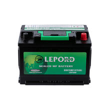 DIN75  SMF 57539  12V Car Battery 12V75AH High Quality Automobile Battery