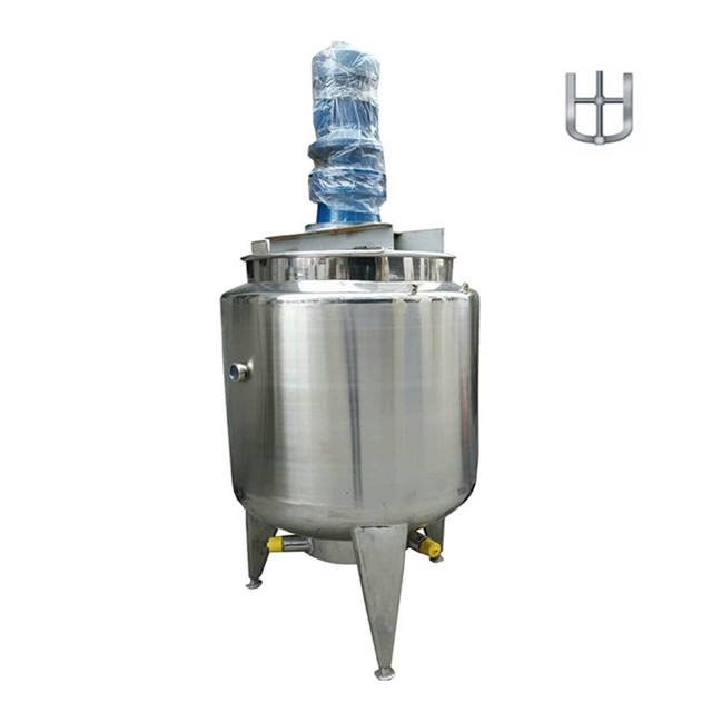 100L stainless steel Continuous Stirred Tank Reactor electric heating reactor jacketed reactor for PVA glue production