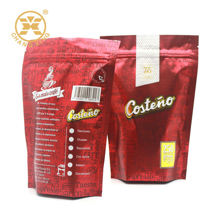 Moisture Proof [ Coffee Pouch ] Coffee Coffee Bag With Zipper Lock Food Packaging Custom Coffee Bags Doypack Coffee Pouch Coffee Powder Packing Standup Pouch With Zipper Lock Foil