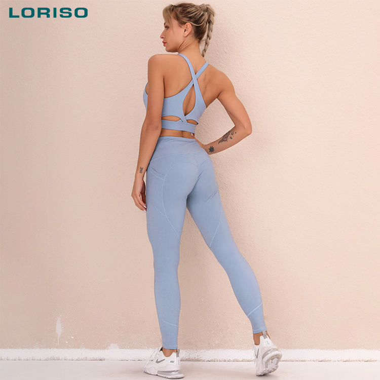 2021 women two piece xl sportwear sexy yoa active squatproof joga fitness clothes athletic gym wear yoga set workout clothing